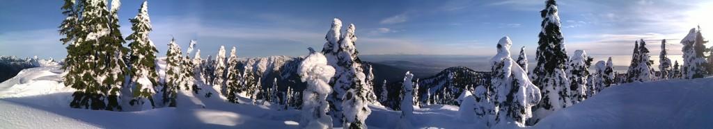 Mt. Strachan Panoramic